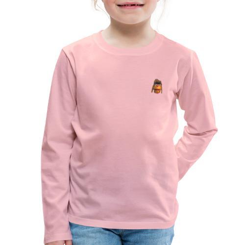 Moppi 3D - Kinder Premium Langarmshirt