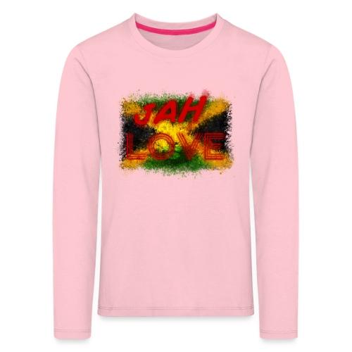 jah love - T-shirt manches longues Premium Enfant