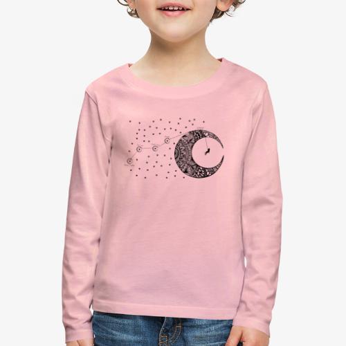 Dream your routes - Kids' Premium Longsleeve Shirt
