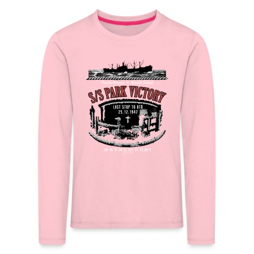 PARK VICTORY LAIVA - Tekstiilit ja lahjatuotteet - Lasten premium pitkähihainen t-paita