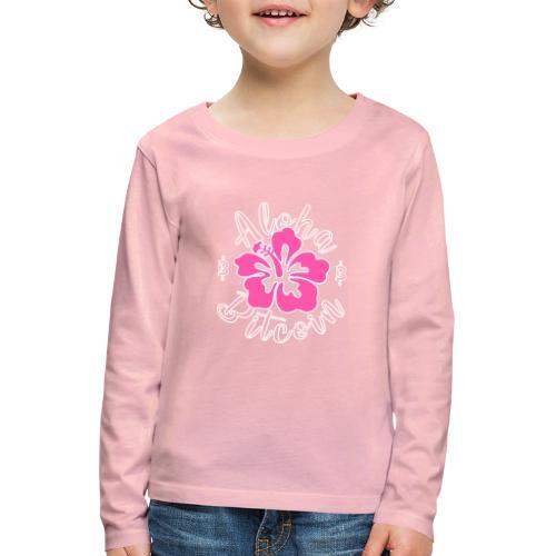 Aloha Bitcoin! - Camiseta de manga larga premium niño