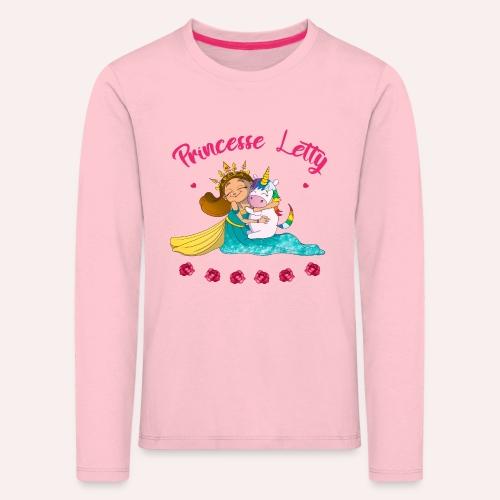 Princesse Letty - T-shirt manches longues Premium Enfant