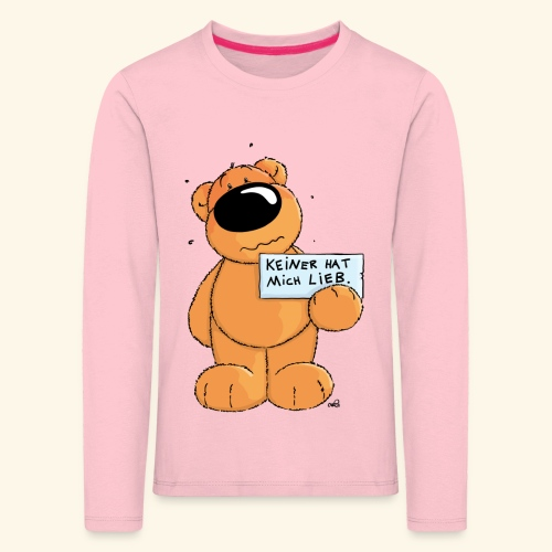 chris bears Keiner hat mich lieb - Kinder Premium Langarmshirt