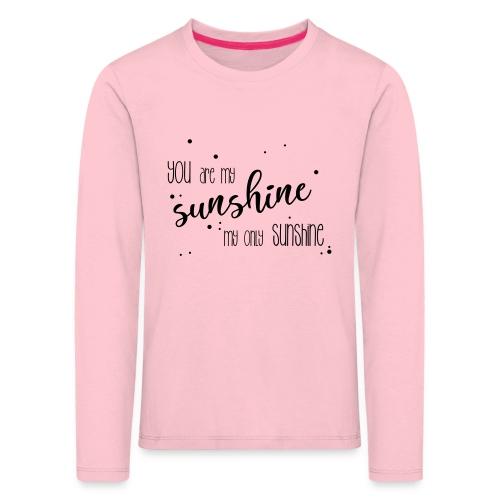 shirtsbydep sunshine - Kinderen Premium shirt met lange mouwen