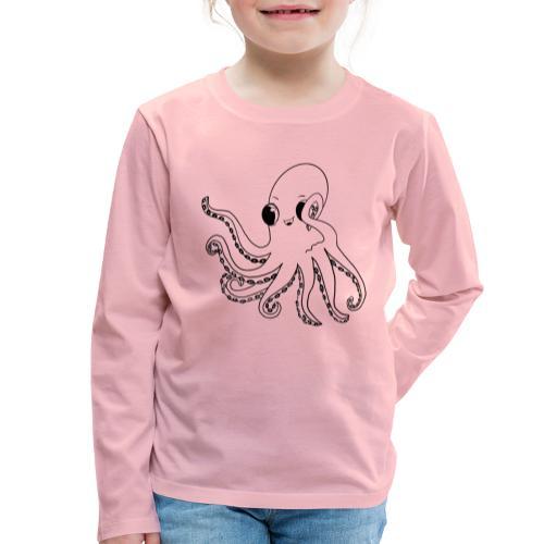 Little octopus - Kids' Premium Longsleeve Shirt