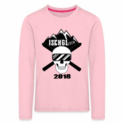 ischgl_crew_2018 - Kinder Premium Langarmshirt