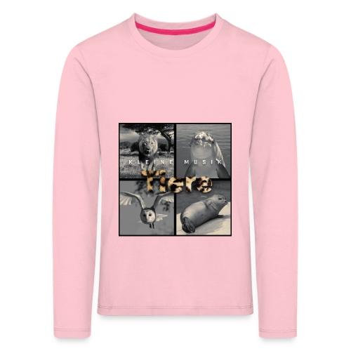 Tiere Cover jpg - Kinder Premium Langarmshirt