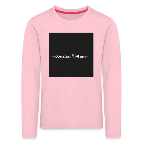 m00sicianFans4everLogo - Kinder Premium Langarmshirt