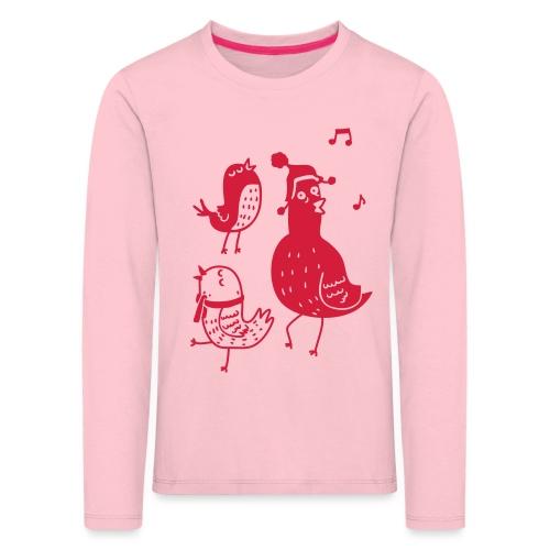 Vögelchen - Kinder Premium Langarmshirt