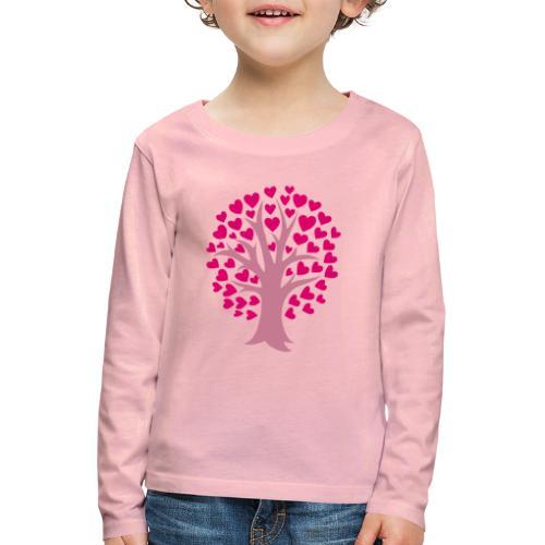 Love Grows - Lasten premium pitkähihainen t-paita