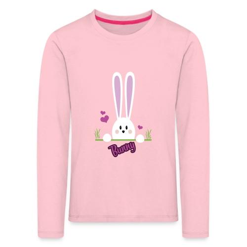 bunny girl - Kinder Premium Langarmshirt