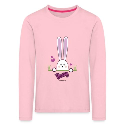 süßes Häschen - Kinder Premium Langarmshirt