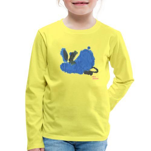 Fauler Hase Designed by Kids - Kinder Premium Langarmshirt