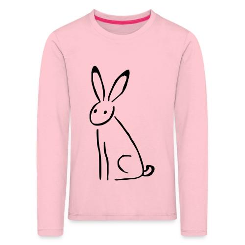 Hase - Kinder Premium Langarmshirt