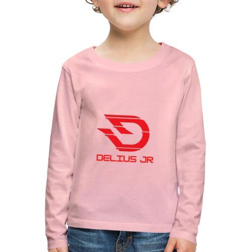 Delius Jr - Kinderen Premium shirt met lange mouwen