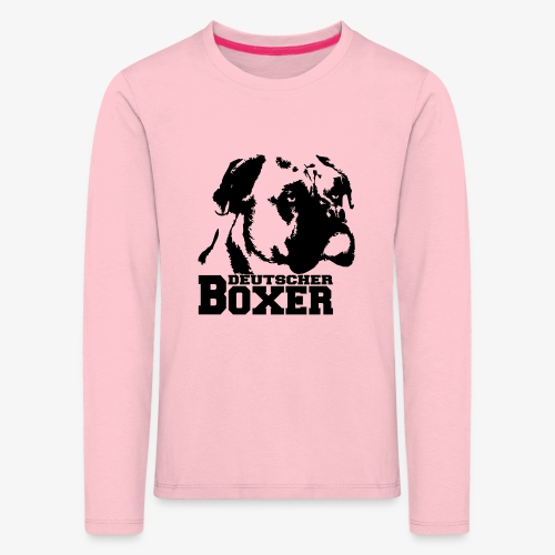 Deutscher Boxer - Kinder Premium Langarmshirt