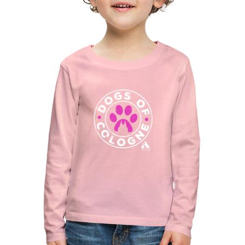 Dogs of Cologne - das Original! In Pink! - Kinder Premium Langarmshirt