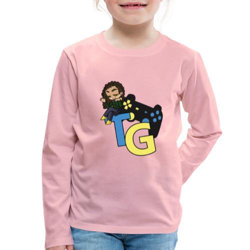 logo kanału z konorią - Koszulka dziecięca Premium z długim rękawem