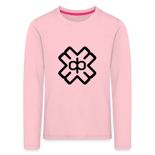 d3ep logo black png - Kids' Premium Longsleeve Shirt