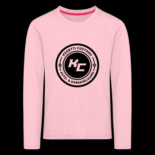 kc_tunnus_2vari - Lasten premium pitkähihainen t-paita