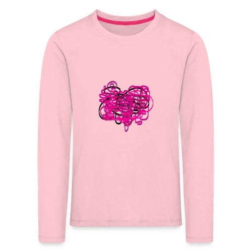 delicious pink - Kids' Premium Longsleeve Shirt