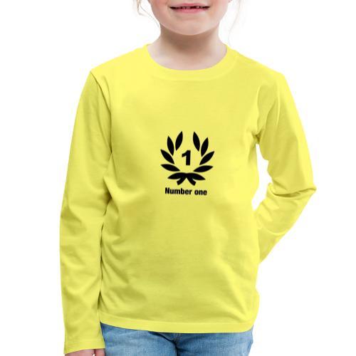 Sieger - Kinder Premium Langarmshirt