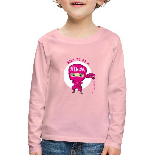 Ninja Baby girl - Maglietta Premium a manica lunga per bambini