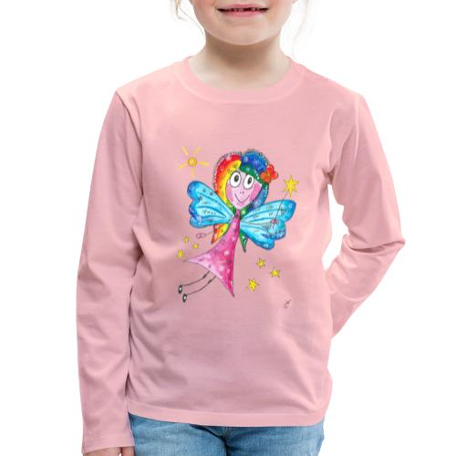 Happy Fairy 2 - Kinder Premium Langarmshirt