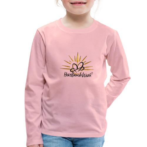 HerzBauchWerk Gold - Kinder Premium Langarmshirt
