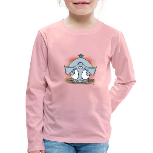 Duckofant - Långärmad premium-T-shirt barn