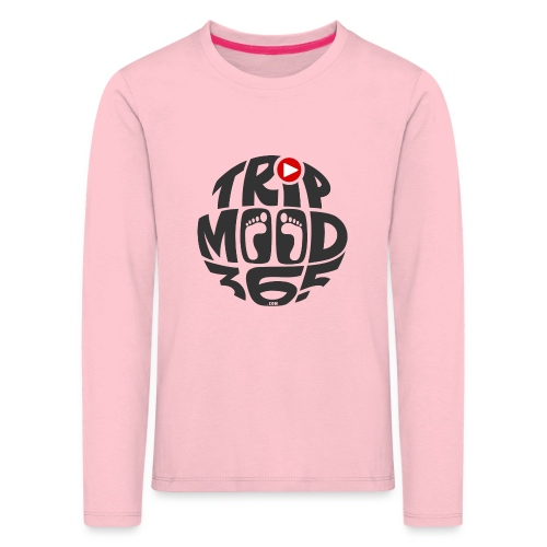 TRIPMOOD365 Traveler Clothes and Products - Lasten premium pitkähihainen t-paita