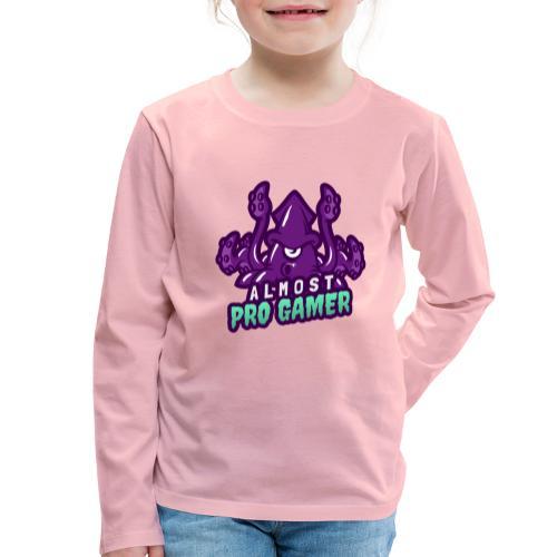 Almost pro gamer PURPLE - Maglietta Premium a manica lunga per bambini