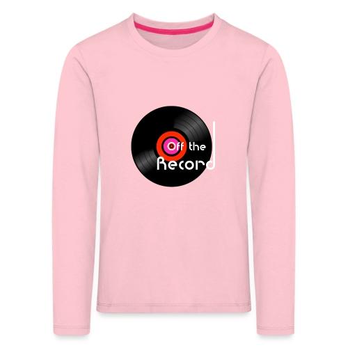 Off the Record - Lasten premium pitkähihainen t-paita