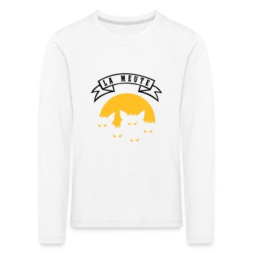la meute - T-shirt manches longues Premium Enfant