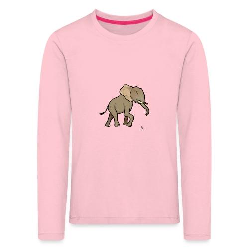 African elephant - Kids' Premium Longsleeve Shirt
