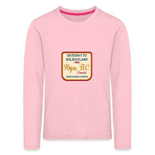Rambo Hope Holidayland - Koszulka dziecięca Premium z długim rękawem