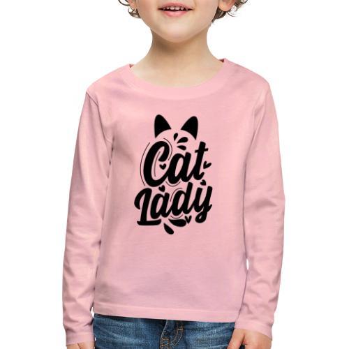 CAT LADY - T-shirt manches longues Premium Enfant