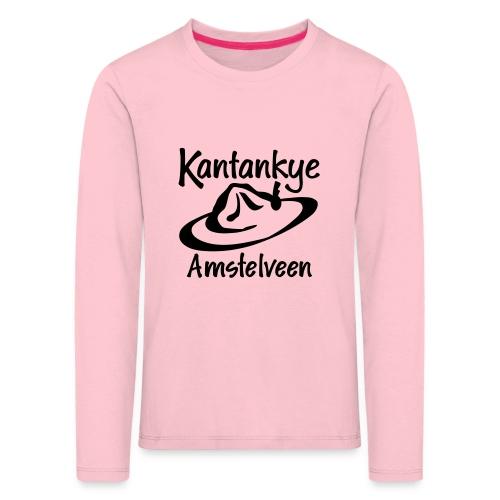logo naam hoed amstelveen - Kinderen Premium shirt met lange mouwen