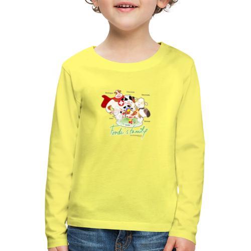 FF FAMILIE 01 - Kinder Premium Langarmshirt