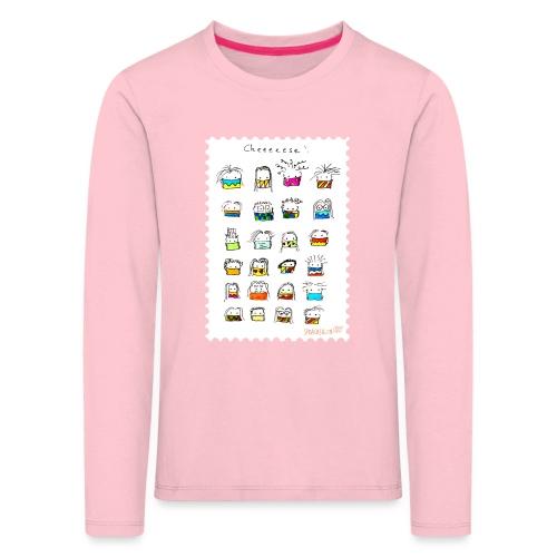 Cheese! - Kinder Premium Langarmshirt