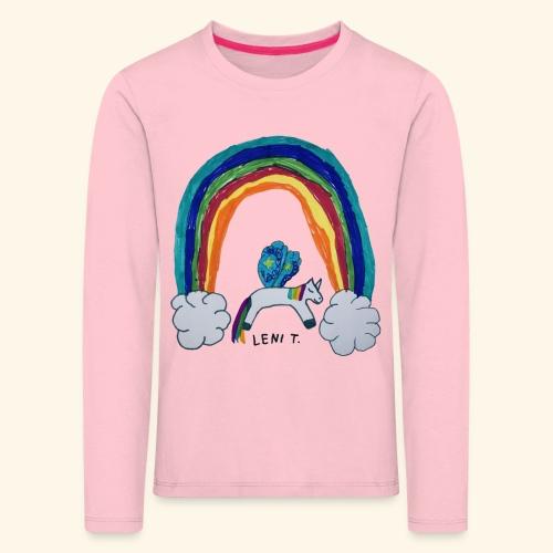 LeniT For Unicorns Only - Lasten premium pitkähihainen t-paita