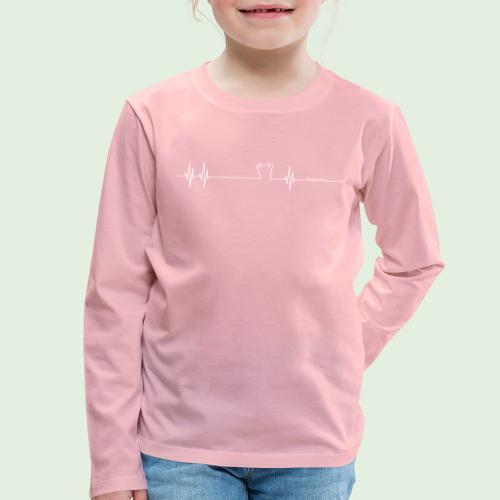 Herzschlag Grenzlandeis - Kinder Premium Langarmshirt