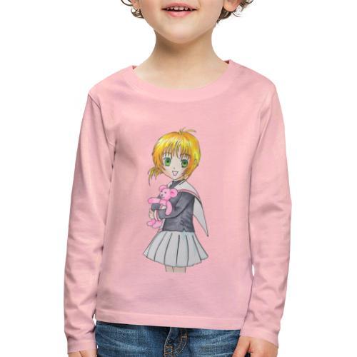 Bimba orsetto - Maglietta Premium a manica lunga per bambini