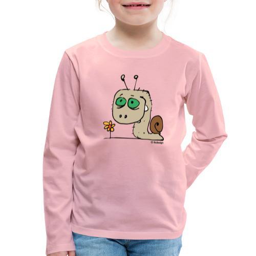 Schnecky - Kinder Premium Langarmshirt