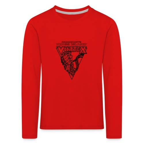 Vortex 1987 2019 Kings Island - Lasten premium pitkähihainen t-paita