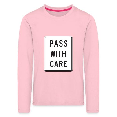 Voorzichtig passeren - Kinderen Premium shirt met lange mouwen