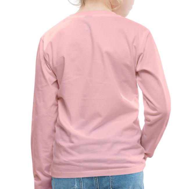 Vorschau: I bin scho - Kinder Premium Langarmshirt