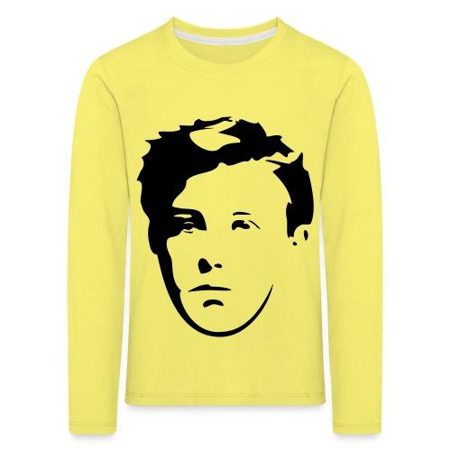 Arthur Rimbaud visage - T-shirt manches longues Premium Enfant