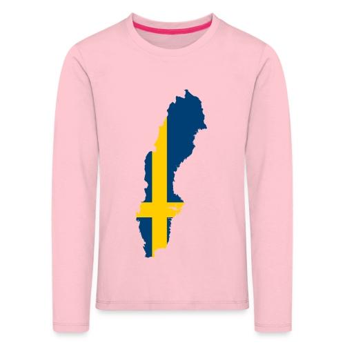 Sweden - Kinderen Premium shirt met lange mouwen