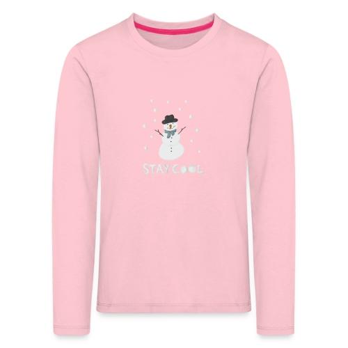 Snowman - Stay cool - Långärmad premium-T-shirt barn